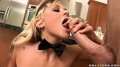 Tittie fucking, rump pounding, and fucked every which way is how she likes it
