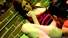 Alyssa Reece and Nikki Rhodes are two dazzling beauties searching for pleasure
