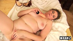Horny blonde Svetlana fucks her hot cunt with her favorite sex toy