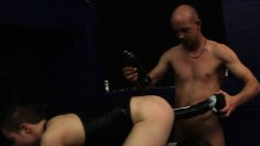 Ashley Ryder and Lee Jaguar having fun with hard cocks and big dildos