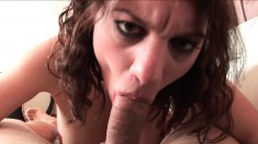 Devin Rae begs her lover to choke on his gigantic jackhammer