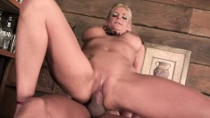 Striking milf with big tits Vannah Sterling has a passion for anal sex