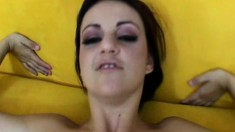 Naudia Nyce gets her butthole drilled by his meat stick in POV