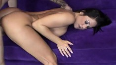 Stacked brunette wife with a splendid ass loves them young and horny