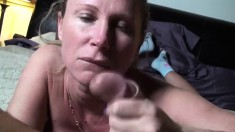Attractive Blonde Milf Reveals Her Impressive Blowjob Abilities In Pov