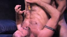 Lusty hunk wants to try nailing another dude's tight asshole