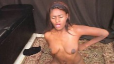 Exotic Beauty Shudders With Intense Pleasure While Riding The Sybian