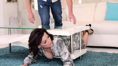 Sexy milf Becky Bandini fucked by ahrd by her pervy stepson