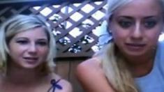 Flashing Tits on Cam