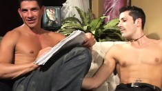 Kinky stud adores having his asshole filled up with man meat