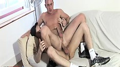 Thierry Schaffauser and Benjamin O'Neil and two young gay studs looking for some fun