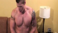 Dirty Travis Turner is eager to get into a fuck fest with Riles Clayton