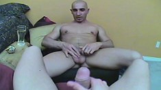 Handsome gay stud Bruno puts his wonderful oral skills into practice