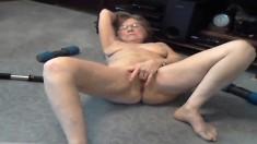 DaringSex Blonde Babe Sexy Solo Masturbation