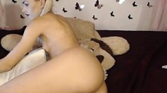 Small blonde teen pounded