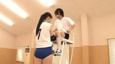 Swallows cum japanese schoolgirl uniform blowjob SGU05