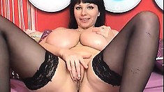 British Milf Has Got Big Boobs