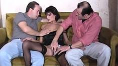 Mature Amateur Threesome Fucking