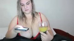slut his tall blonde fetish flashing ass on live webcam