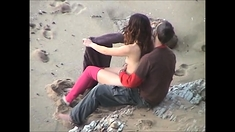 Beach Hidden Cams Couple