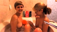 A Tale About Two Lesbians Who Took A Bath (check My Profile)