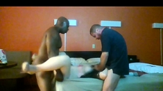 Interracial Threesome Amateur