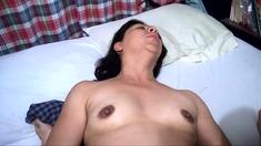 Mexican Slut Girl Masturbating