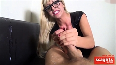 Blonde Wants Him To Cum Two Times