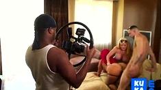 Home Surveillance Camera Catches Pinky Xxx Porn Shoot
