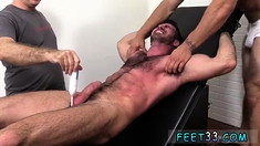 Short stocky gay porn Billy Santoro Ticked Naked